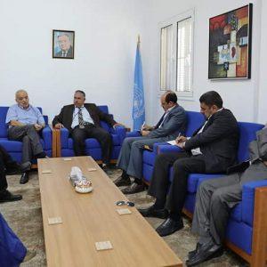 بلدي مصراته يزور مقر البعثة الأممية لبحث تطورات الأوضاع في العاصمة طرابلس