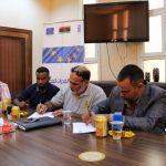 مشروع تعزيز القدرات المحلية يُعطي شارة البدء بصيانة «عيادة ليبيا» في الكفرة