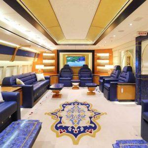 بالصور.. طائرة رئاسية فاخرة هدية من أمير قطر لأردوغان!!