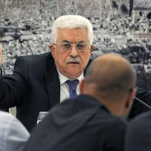 عباس يشتكي لـ كيم من سياسات أمريكا تجاه القضية الفلسطينية