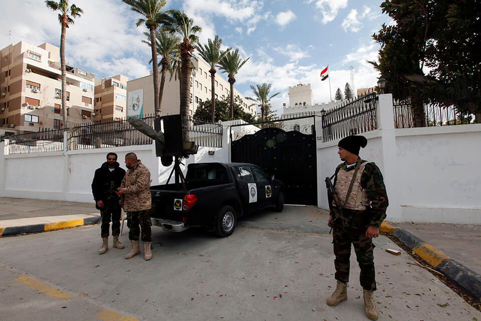 السفارة المصرية طرابلس