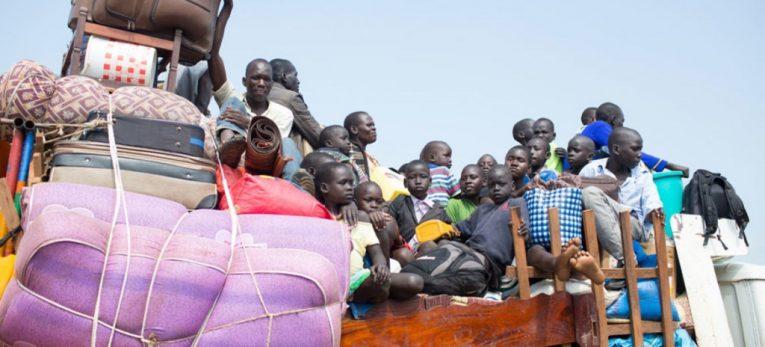 لاجئي جنوب السودان