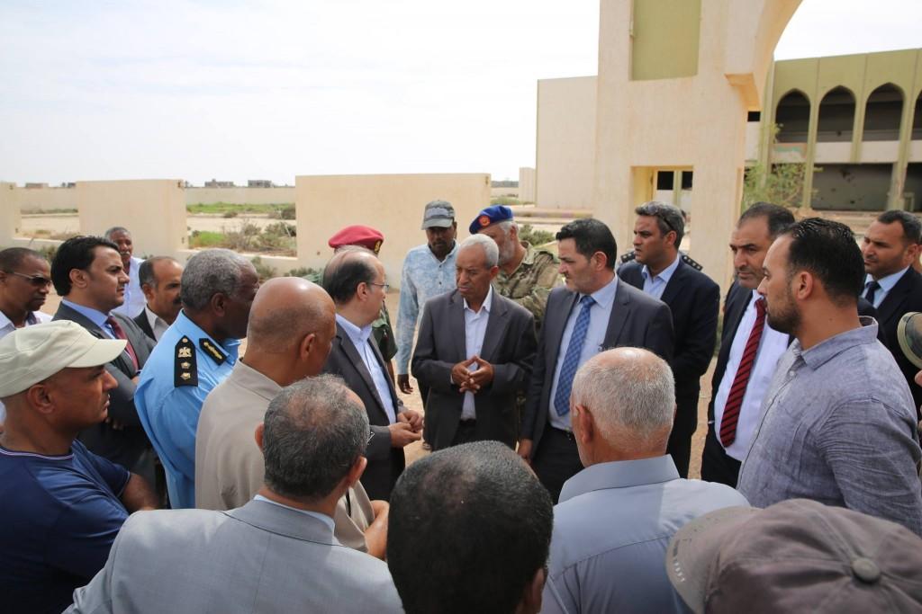 وفد حكومة الوفاق