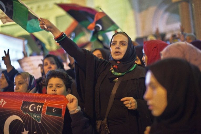 المرأة الليبية