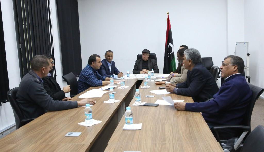 لجنة متابعة تنفيذ اتفاق تاورغاء مصراته تدعو باقي القطاعات الخدمية لاستكمال أعمالهم في تاورغاء