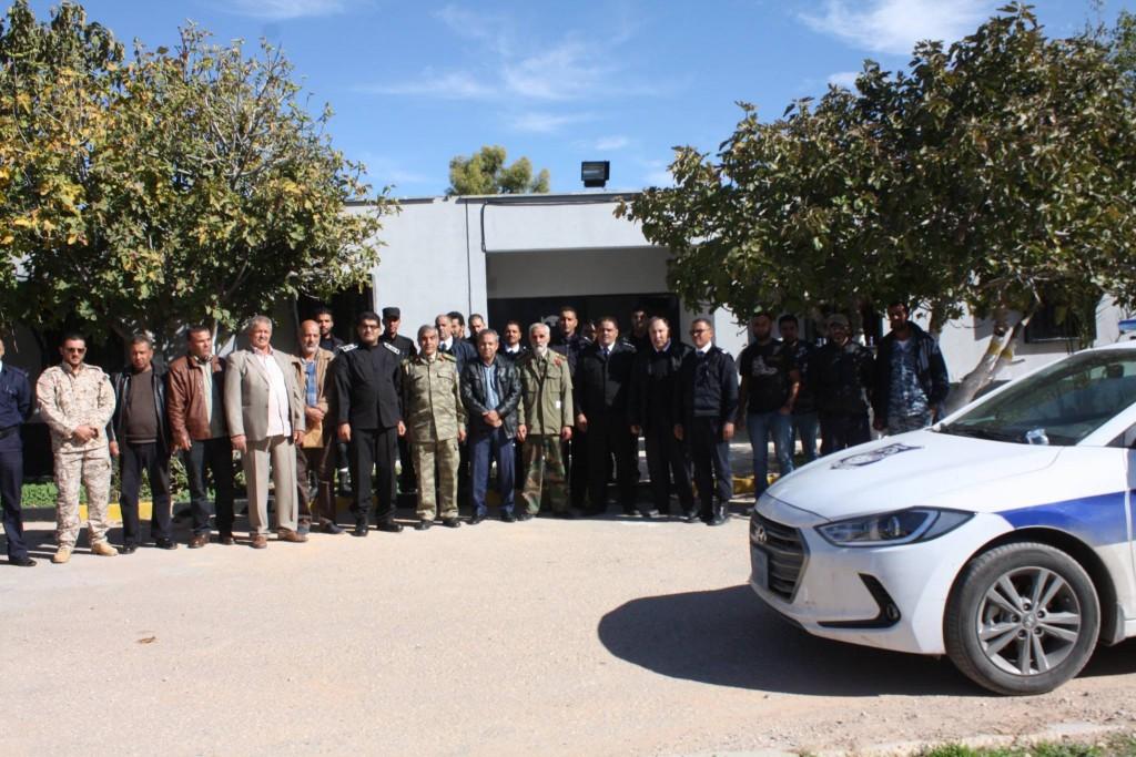 قوة مشتركة بين الأجهزة الأمنية والعسكرية لفرض الأمن في غريان