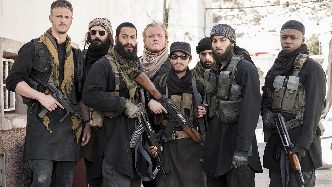 مقاتلون في تنظيم داعش