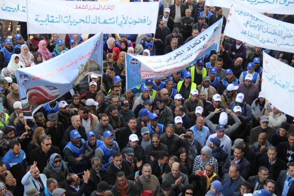 وصفت العرض بالهزيل: نقابة الاتحاد المغربي للشغل تتوعد حكومة العثماني