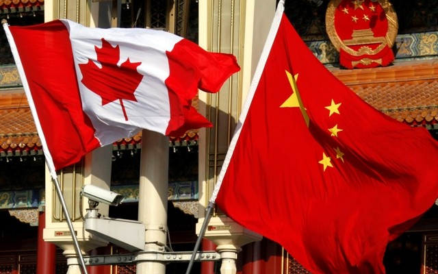 الصين وكندا