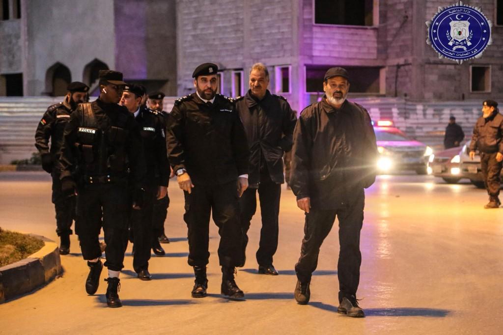 رئيس «قوة العمليات الخاصة» يتفقد قصر بن غشير وضواحيها