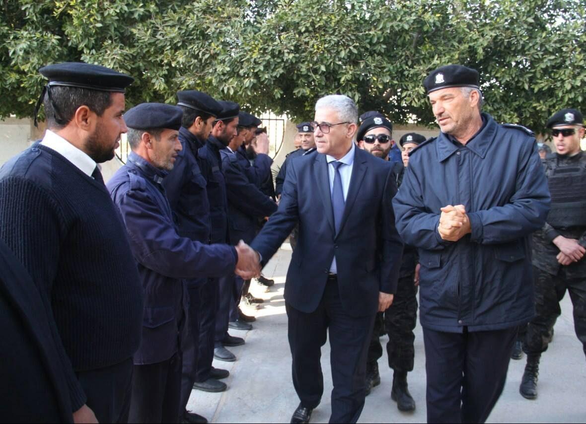 خلال تفقده مديرية أمن قصر بن غشير.. باشاغا يؤكد الاستمرار في تنفيذ الترتيبات الأمنية