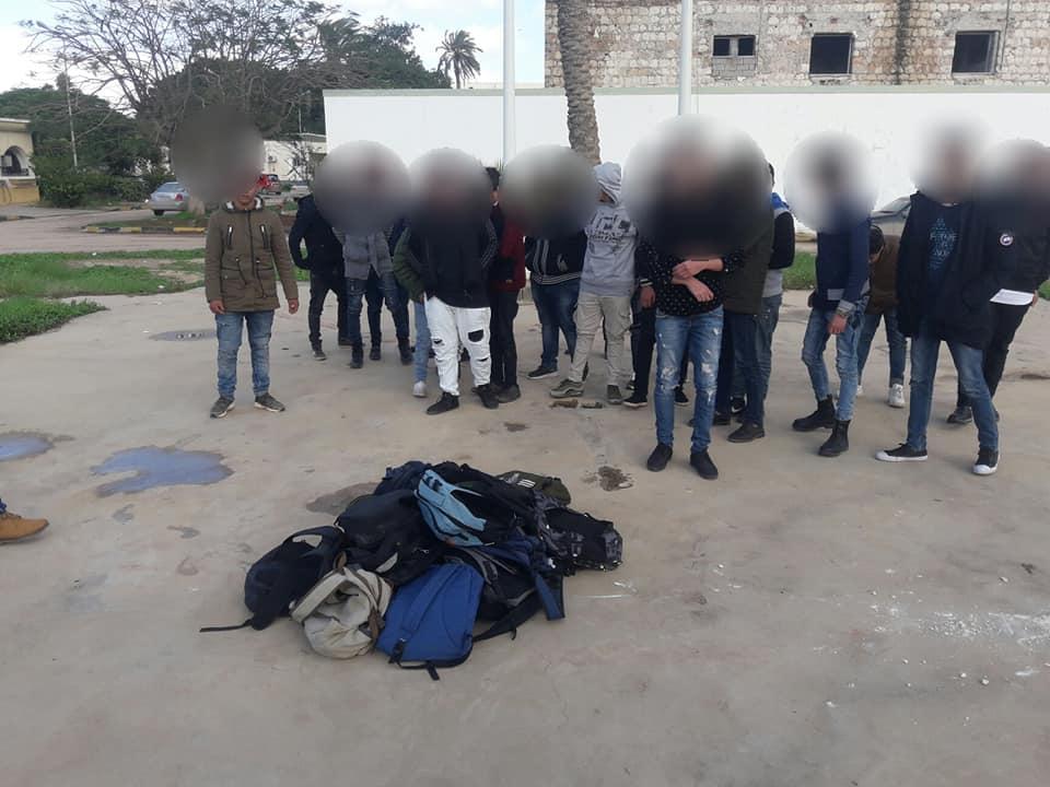 حماية الآداب بنغازي