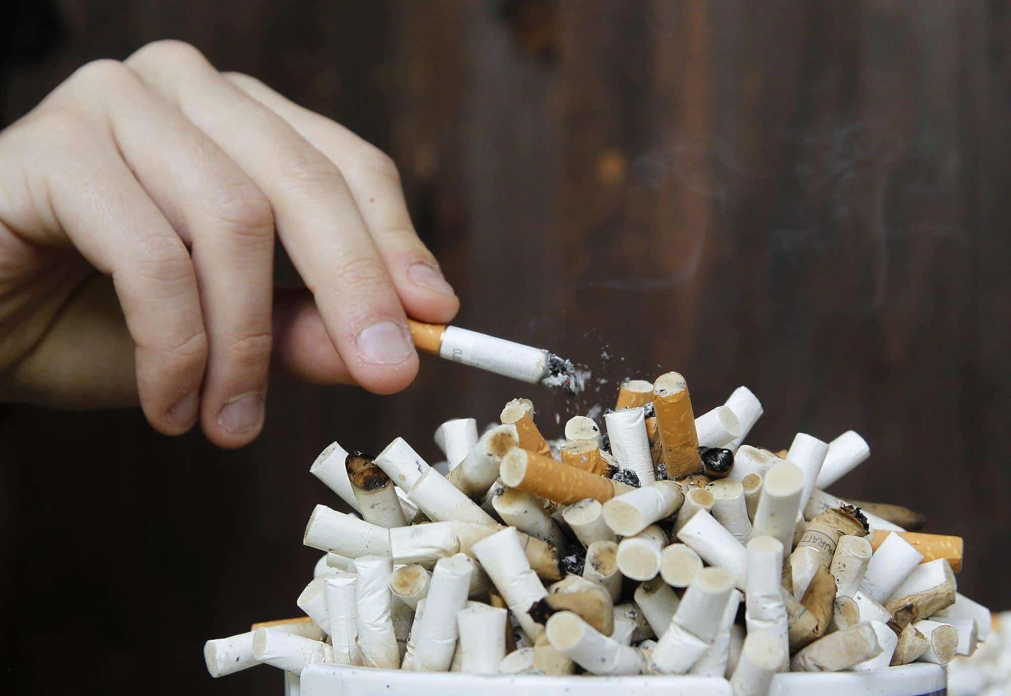 بحث-عن-التدخين