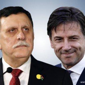 رئيس وزراء إيطاليا يؤكد للسراج رفض بلاده لهجوم قوات حفتر على العاصمة
