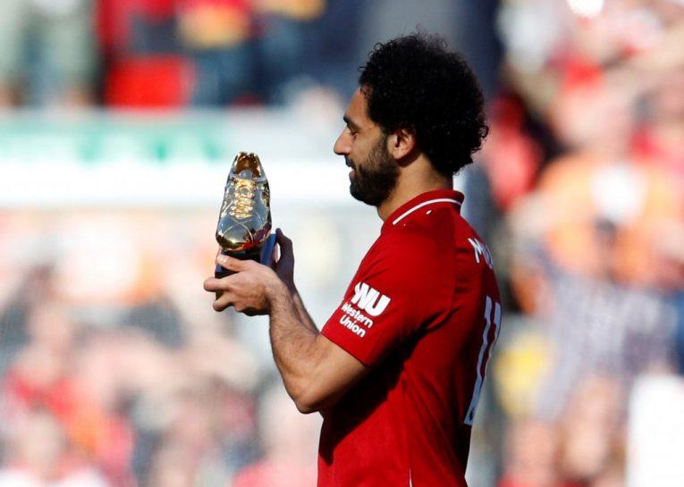 من يُنافس محمد صلاح على جائزة الحذاء الذهبي في الدوري الإنجليزي؟