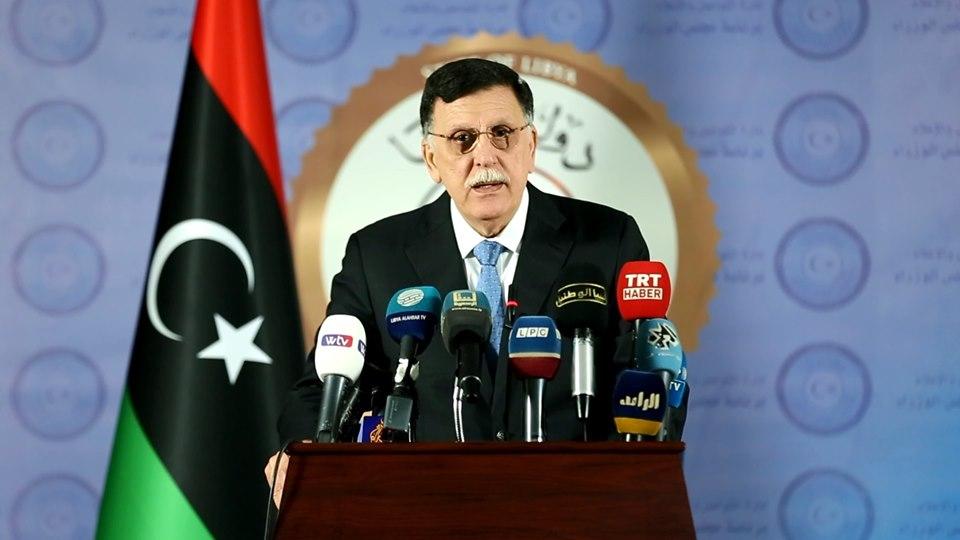 عبر ملتقى وطني.. «السراج» يُعلن عن مبادرة سياسية لحل الأزمة الليبية