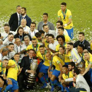 للمرة التاسعة في تاريخه.. المنتخب البرازيلي يُحرز لقب كوبا أمريكا