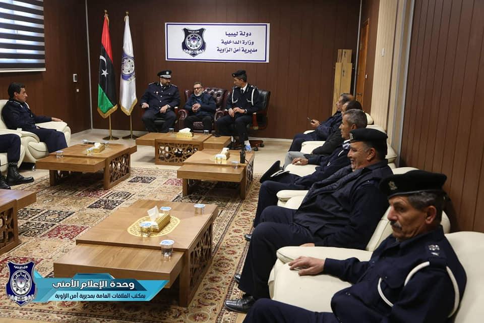 اجتماع أمني مُوسع لمديريات أمن المنطقة الغربية
