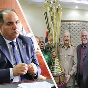 المدني: هيئة رياضة «الوفاق» تدعم «نادي النصر» الداعم لحفتر وتدفع ديونه