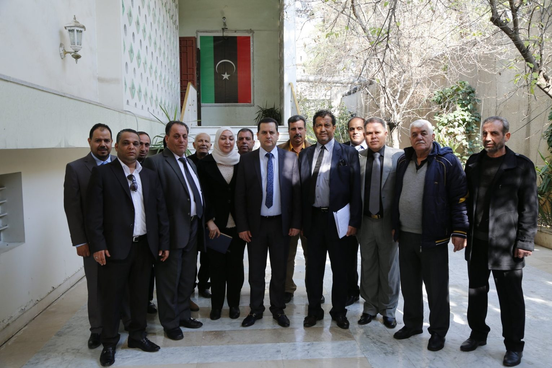 خارجية «الوفاق» تستنكر تسليم النظام السوري سفارة ليبيا إلى الحكومة المؤقتة