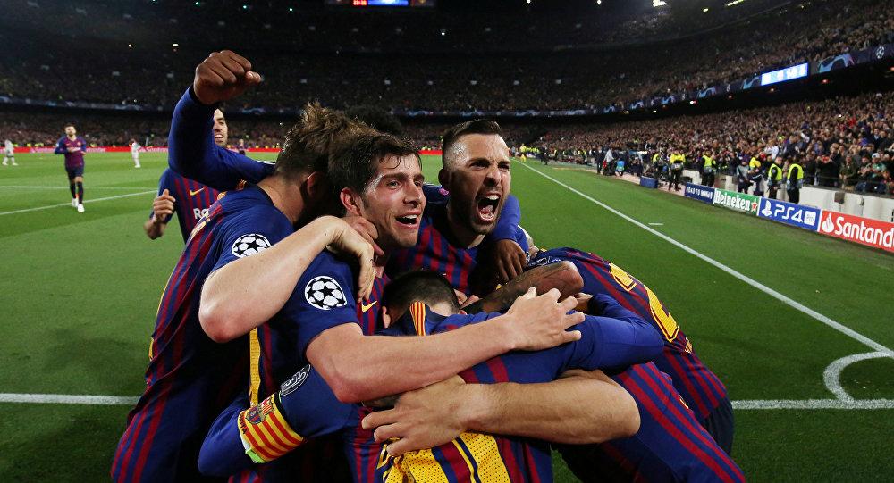 نادي برشلونة ينافس مانشستر سيتي على مدافع إنتر ميلان