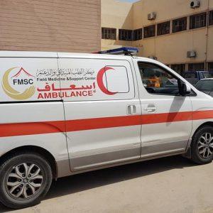 مركز الطب الميداني ينعى طبيباً سقط أثناء إنقاذه للجرحى