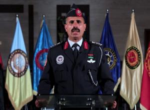 إيجاز صحفي للمتحدث الرسمي باسم الجيش التابع لحكومة الوفاق
