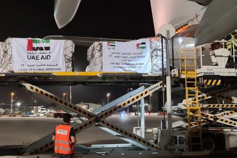 الحكومة الفلسطينية: لم تنسق الإمارات مسبقاً  بشأن شحنة المساعدات عبر إسرائيل