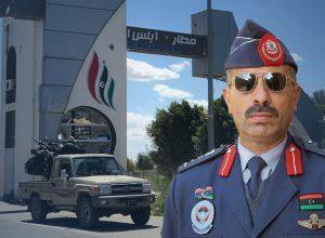 قنونو: قواتنا تُحرر مطار طرابلس العالمي بالكامل