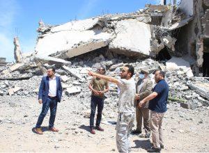 حكومة الوفاق تدعو المواطنين لعدم العودة لبيوتهم قبل إزالة الألغام ومخلفات الحرب