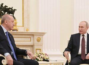 «بوتين» يبحث مع نظيره التركي تطورات الأوضاع في ليبيا