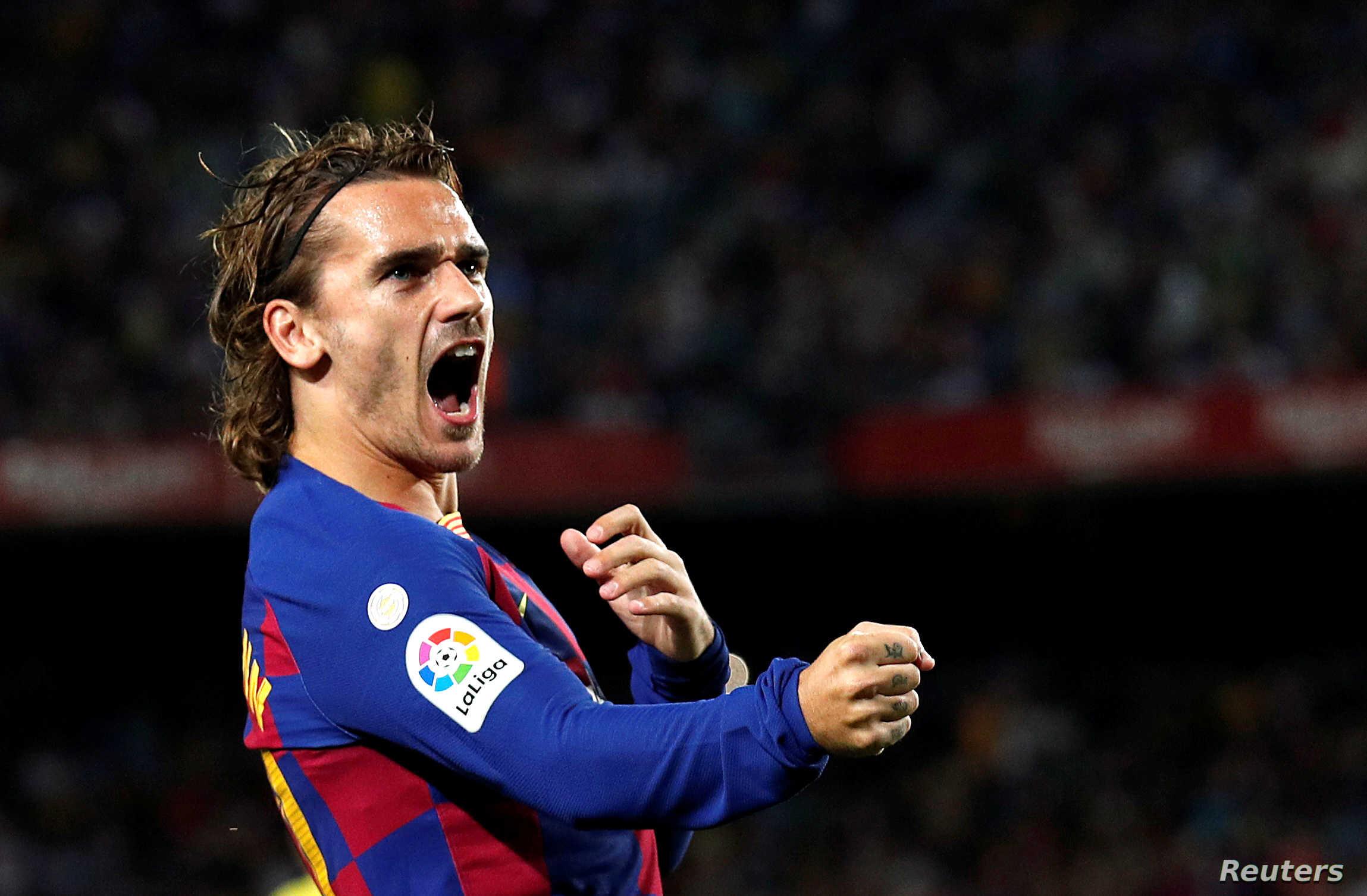 غريزمان إصابة قد تنهي موسمه في الدوري الإسباني