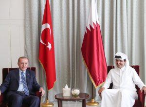 أمير قطر يستقبل الرئيس التركي ويبحث معه عدداً من الملفات