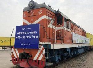 الصين.. قطار ينطلق إلى أوروبا بمواد لمكافحة كورونا