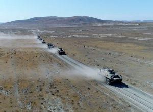 تركيا تُواصل مناوراتها العسكرية مع أذربيجان