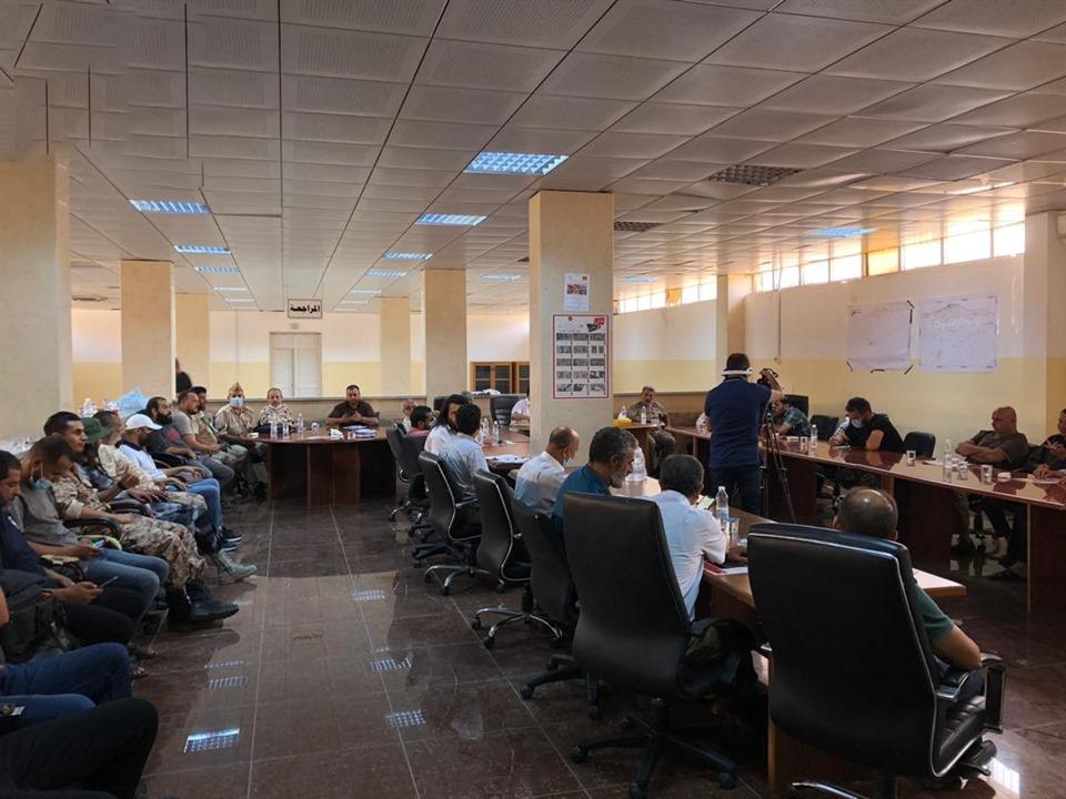 اجتماع تأسيسي لتفعيل قانون إنشاء الحرس الوطني الليبي