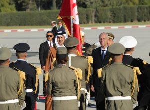 قطر تُؤكد دعمها لتونس ومؤسساتها