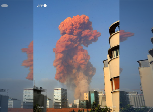 لبنان.. انفجار كبير يهز بيروت وحالة من الهلع تسود