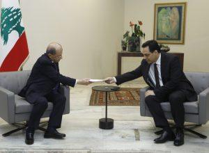 رئيس لبنان يقبل استقالة حكومة «حسان دياب» ويُطالبها بتصريف الأعمال
