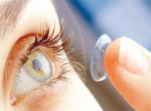 ما مدى الضرر للعدسات اللاصقة الملونة للعين؟
