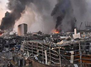 الرئيس اللبناني لا يستبعد «التدخل الأجنبي» كسبب لانفجار بيروت