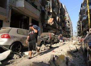 أكثر من 300 ألف شخص اصبحو مشردين في بيروت