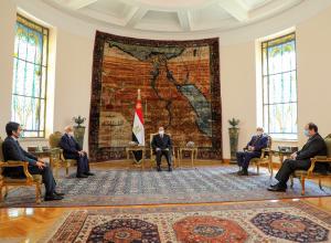 خلال لقائه حفتر وعقيلة.. «السيسي» يُؤكد دعمه الحل السياسي للأزمة الليبية