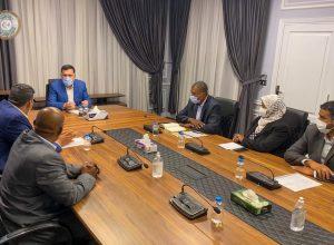 الرئاسي يستعرض مطالب بلدي غات المُنتخب