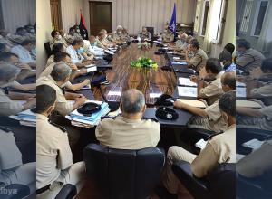 اجتماع بمديرية أمن طرابلس لمناقشة أبرز المستجدات