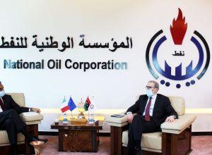 مؤسسة النفط تبحث أوجه التعاون مع الشركات الإيطالية