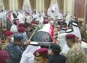 جثمان أمير الكويت الراحل يُوارى الثرى