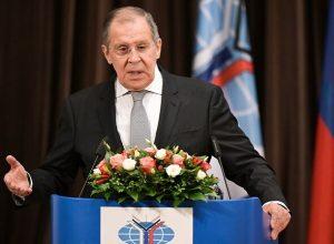 لافروف: مشاوراتنا مع تركيا تُعزّز وقف إطلاق النار في ليبيا