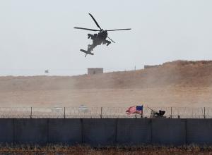 فيديو.. احتكاك بين مروحيات أمريكية وروسية في سوريا