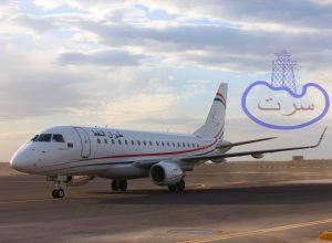 استئناف الرحلات الجوية بين مرسى البريقة ومطار معيتيقة